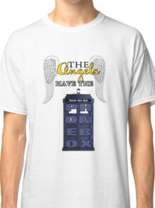 The Angels Have the Phonebox | Doctor Who Classic T-Shirt