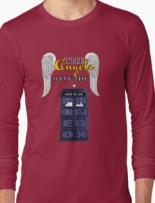 The Angels Have the Phonebox | Doctor Who Long Sleeve T-Shirt