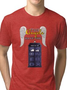 The Angels Have the Phonebox | Doctor Who Tri-blend T-Shirt