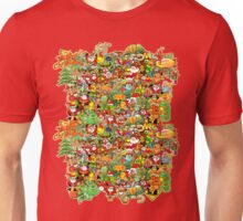 In Christmas melt into the crowd and enjoy it Unisex T-Shirt
