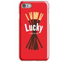 Lucky Chocolate Sticks iPhone Case/Skin