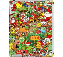 In Christmas melt into the crowd and enjoy it iPad Case/Skin