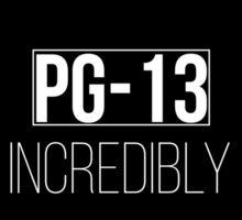 PG-13 How incredibly dull - Carmilla (Black) Sticker