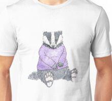 Winter Badger Unisex T-Shirt
