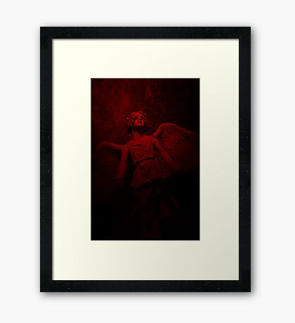 Bleeding Angel Framed Print