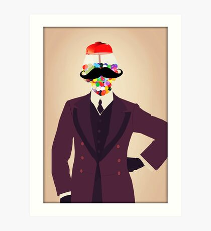 The Perfect Gentleman Art Print