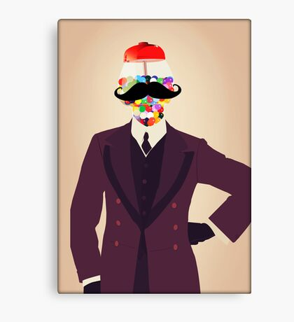 The Perfect Gentleman Canvas Print
