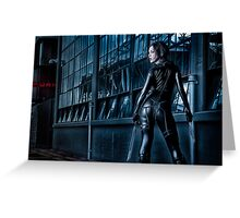 Lancer un regard assassin Greeting Card