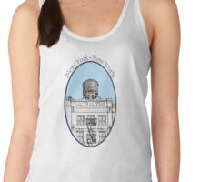 NYC-Water tower above SoHo building Women's Tank Top