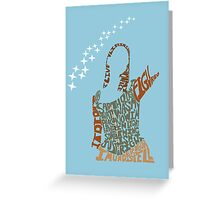 Under your spell Greeting Card