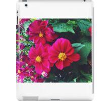 Pretty pink flowers iPad Case/Skin