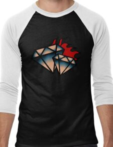 Cool Diamond Men's Baseball ¾ T-Shirt