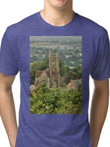 St James  Tri-blend T-Shirt