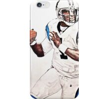 Cam Newton - Pencil Drawing iPhone Case/Skin