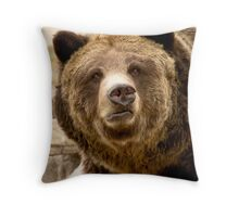 Who's Been Sleeping In My Bed ? Throw Pillow