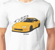 Honda Integra DC2 (Yellow) Unisex T-Shirt