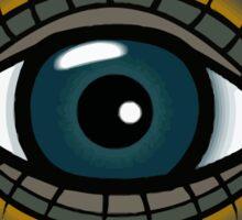 Cute eye Sticker