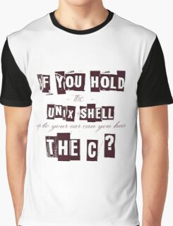 Can you hear the C ??? Graphic T-Shirt