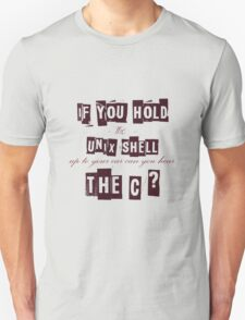 Can you hear the C ??? Unisex T-Shirt