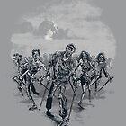 the nordic walking dead by badbasilisk