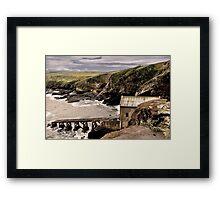 Lifeboat House Framed Print