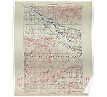 USGS Topo Map Washington State WA Zillah 244843 1910 125000 Poster