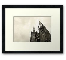 cathedral charm Framed Print