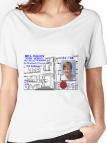 BTTF MARTY MCFLY ID Women's Relaxed Fit T-Shirt