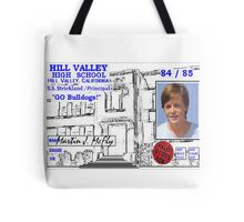 BTTF MARTY MCFLY ID Tote Bag