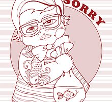 I'm Sorry Card by TattooedBabies