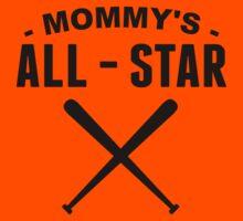 Mommy's All-Star Baseball Kids Tee