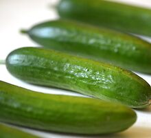 snack cucumber by Nicole W.