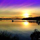 Wollumbin Sunset NSW by kevperan