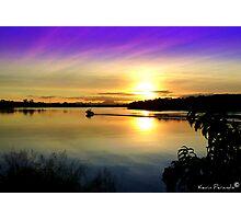 Wollumbin Sunset NSW Photographic Print