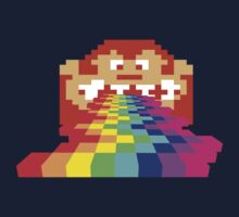 8 Bit Donkey Kong Rainbow Kids Clothes