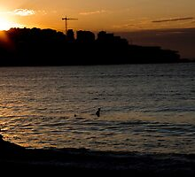 Surfers, Bondi, New South Wales, Australia by Sharpeyeimages