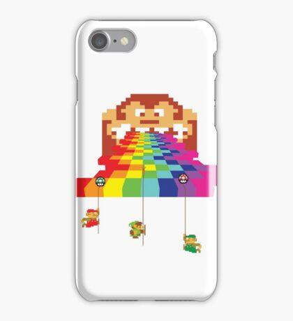 8 Bit Nintendo Rainbow iPhone Case/Skin