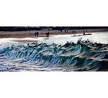 Waves at Bondi, New South Wales, Australia Photographic Print