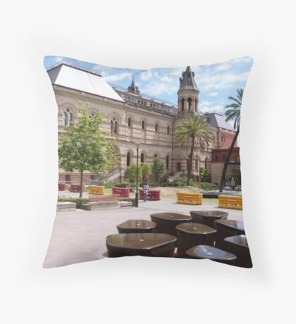 The Mortlock Library! North Terrace, Adelaide, Sth. Aust. Throw Pillow