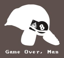 Game Over, Man - White Baby Tee