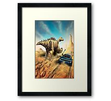 Dinosaur Hunt Framed Print
