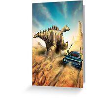 Dinosaur Hunt Greeting Card