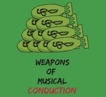 Weapons Of Musical Conduction Kids Tee