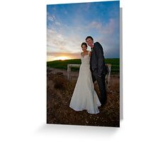 Mr and Mrs Shepherd Greeting Card