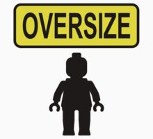 Oversize Minifig by Customize My Minifig  by ChilleeW