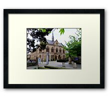 'The Mitchell Building' Adelaide Original Uni., bldg. North Terrace. Framed Print