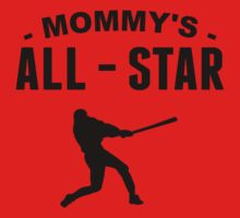 Mommy's All-Star Baseball One Piece - Short Sleeve