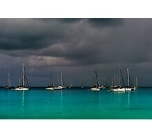 Storm over the Lagoon Photographic Print