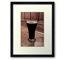 Tsarist Imperial Stout - Spinnakers Gastro Brew Pub, Victoria Framed Print