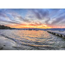 Colour & Light - Clareville, Sydney Australia - The HDR Experience Photographic Print